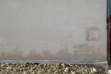 Mur avant forage