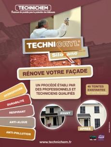 Brochure du Technichryl Siloxane