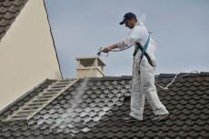 application traitement toiture